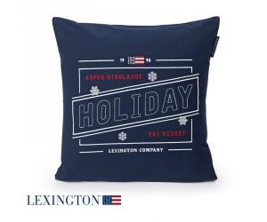 Lexington Dekokissen Holiday Sham blue