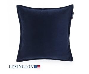 Lexington Dekokissen Velvet Sham blue