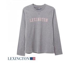 Lexington Pajama Rachel in weiß/pink