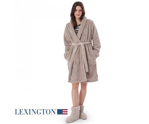 Lexington Bademantel Roxanne in beige