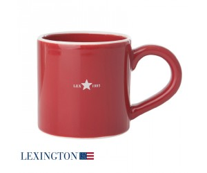 Lexington Tasse Holiday red