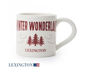 Lexington Tasse Winter Wonderland white/red