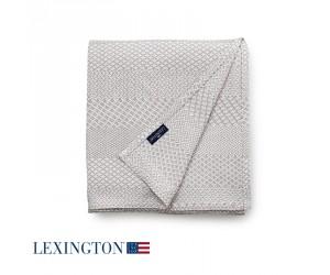 Lexington Bettüberwurf Structured Cotton in beige