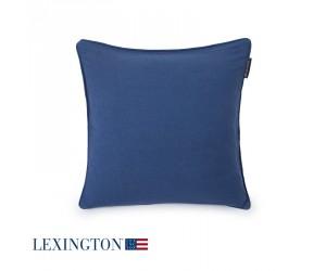 Lexington Dekokissen Contrast Sham blau (50 x 50 cm)