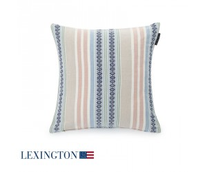 Lexington Dekokissen Multi Striped Sham in Pastel (50 x 50 cm)