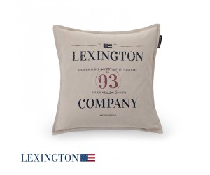 Lexington Dekokissen Classic Graphic Sham in beige