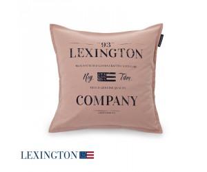 Lexington Dekokissen Classic Graphic Sham in rosa