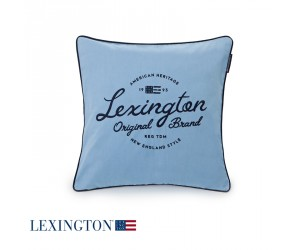 Lexington Dekokissen Sham in blau