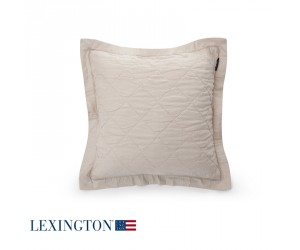 Lexington Dekokissen Quilt Sham in beige