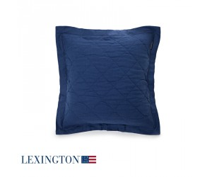 Lexington Dekokissen Quilt Sham in blau