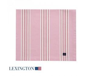 Lexington Tischdecke Striped in rosa
