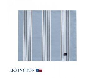 Lexington Tischdecke Striped in blau