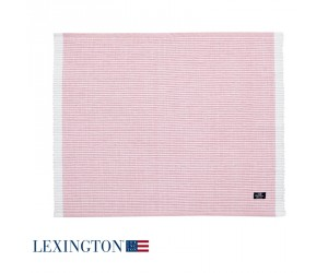 Lexington Platzset Striped in rosa
