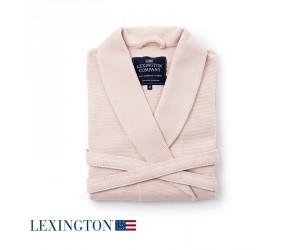Lexington Bademantel Patty Waffle Robe in rosa