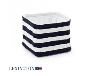 Lexington Basket Block Striped in blau/weiß