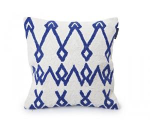 Lexington Dekokissen Summer Rope Sham weiß/blau
