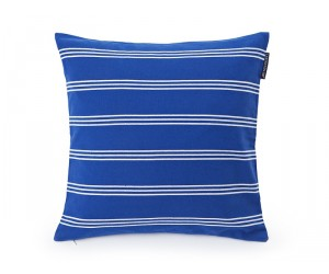 Lexington Dekokissen Summer Striped Sham blau/weiß