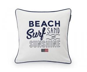 Lexington Dekokissen Summer Beach Sham weiß