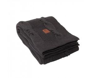 Lexington Decke Knitted in grau