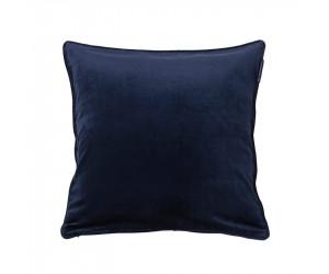 Lexington Dekokissen Velvet in blau