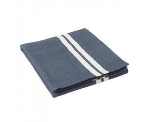 Lexington Tischdecke Striped in blau-weiß