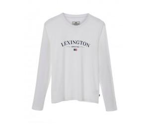 Lexington Pyjama Velma rosa-weiß