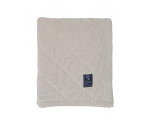 Lexington Plaid Quilt Velvet Bedspread creme (2 Größen)