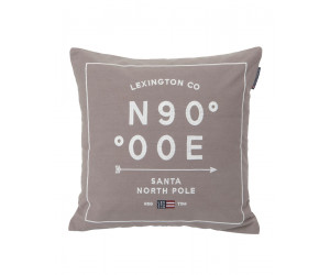 Lexington Dekokissen North Pole Sham grau (50 x 50 cm)