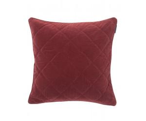 Lexington Dekokissen Velvet Quilt Sham rot (65 x 65cm)
