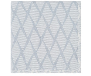 Lexington Tagesdecke Jacquard cotton blau/weiß (2 Größen)