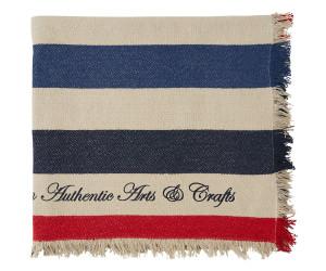 Lexington Decke Blocked striped Cotton (150 x 150 cm)