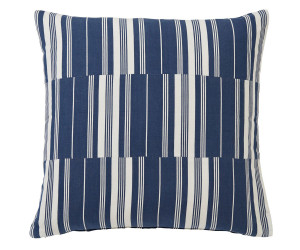 Lexington Dekokissenbezug  cut & sewn striped cotton blau (50 x 50 cm)