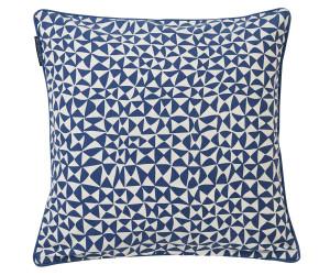 Lexington Dekokissenbezug Coral printed blau (50 x 50 cm)