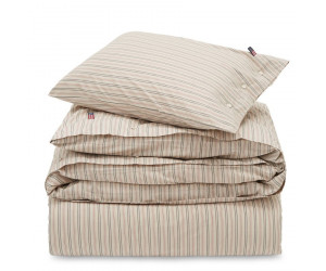 Lexington Bettwäsche Set Holiday Striped Cotton beige multi
