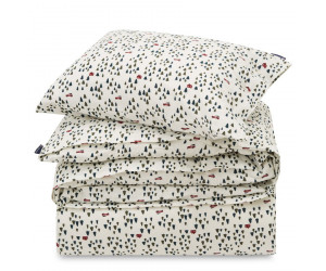 Lexington Bettwäsche Set Holiday Printed Cotton Flanell white green