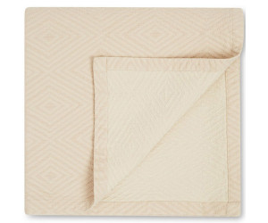 Lexington Bettüberwurf Holiday Quilted Cotton beige weiß ( 2 Größen)