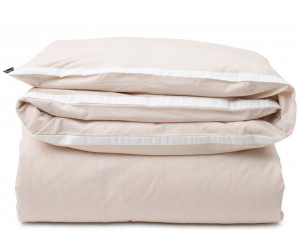 Lexington Bettwäsche contrast cotton chambray beige/white