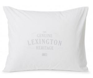 Lexington Kissenbezug Printed Cotton Poplin white/light gray