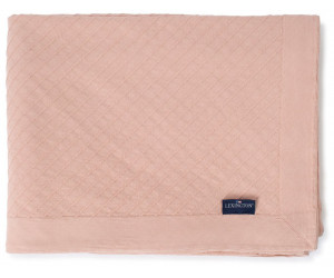 Lexington Tagesdecke Diagonal Structured Cotton light pink