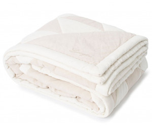 Lexington Tagesdecke Patch Quilted Cotton Velvet/Linen