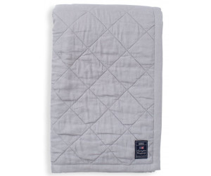 Lexington Tagesdecke  Quilted Linen/Viscose light gray