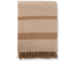 Lexington Decke Herringbone Recycled Wool beige