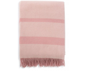 Lexington Decke Herringbone Recycled Wool pink