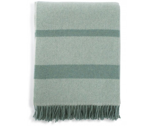 Lexington Decke Herringbone Recycled Wool green