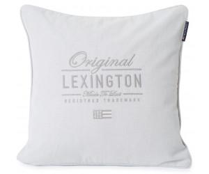 Lexington Dekokissen Original Logo Cotton Herringbone