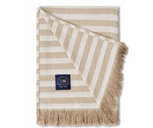 Lexington Striped Plaid beige/weiss 130x170