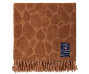 Lexington Decke Graphic Recycled Wool Mix beige, 130x170