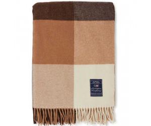 Lexington Decke Checked Recycled Wool beige/grau, 130x170