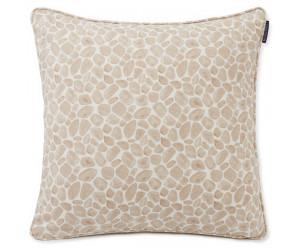 Lexington Dekokissenbezug Printed Giraffe Baumwolle Twill hell beige/weiß, 50x50