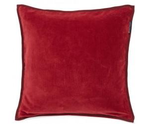 Lexington Dekokissenbezug Velvet Cotton rot